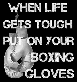 boxing tough
